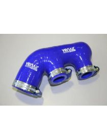 PORSCHE 996 TURBO S/TT/X50/GT2 420CV 00-05 Durite air silicone suralimentation VENAIR, coloris BLEU