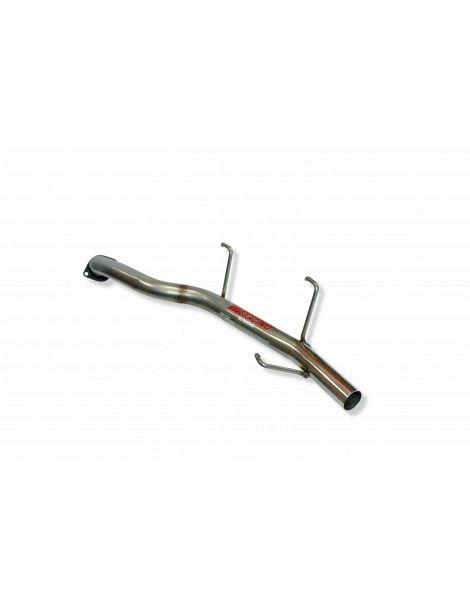 Silencieux tube inox RC RACING référence ET204-GA