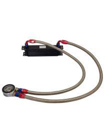 Kit radiateur huile matrice 235mm 10 rangées BREEZY DASH10, plaque standard MOCAL