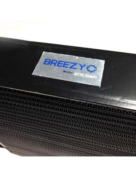 Radiateur huile BREEZY matrice 235mm 19 rangées DASH10 noir