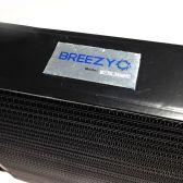 Radiateur huile BREEZY matrice 235mm 34 rangées DASH10 noir