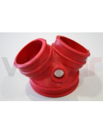 Durite air silicone suralimentation VENAIR, reference 600001121823 - coloris ROUGE