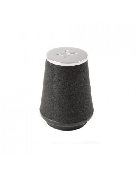 Filtre PIPERCROSS avec chapeau alu, connexion caoutchouc diametre: 70mm, diametre exterieur: 100mm, longueur: 150mm