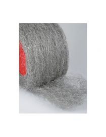 Laine d'acier inoxydable anti magnétique garniture échappement résistant à 1200°C, rouleau 1 kg
