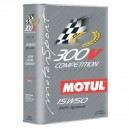 Huile moteur MOTUL 300V COMPETITION 15W50 - Bidon 2L