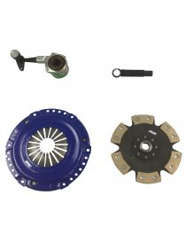 Kit embrayage renforce SPEC STAGE 4 avec disque rigide carbone semi-metallique, reference SC894