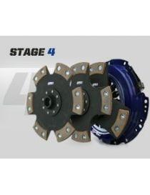 Kit embrayage renforce SPEC STAGE 4 avec disque rigide carbone semi-metallique, reference SN354