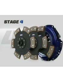 Kit embrayage renforce SPEC STAGE 4 avec disque rigide carbone semi-metallique, reference SN454