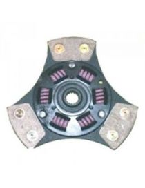 Disque embrayage renforce metal fritte amorti 3 patins SAFFA diametre 190mm, reference EMB-2553