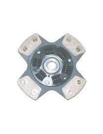 Disque embrayage renforce metal fritte amorti 4 patins SAFFA diametre 200mm, reference EMB-2492