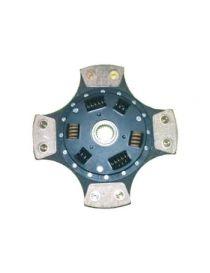 Disque embrayage renforce metal fritte amorti 4 patins SAFFA diametre 214mm, reference EMB-2733