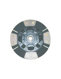 Disque embrayage renforce metal fritte amorti 4 patins SAFFA diametre 215mm, reference EMB-2610