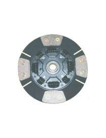 Disque embrayage renforce metal fritte amorti 4 patins SAFFA diametre 215mm, reference EMB-2610