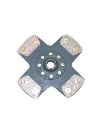 Disque embrayage renforce metal fritte rigide 4 patins SAFFA diametre 215mm, reference EMB-2119