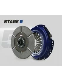 Kit embrayage renforce SPEC STAGE 5 avec disque rigide metal fritte, reference SU005