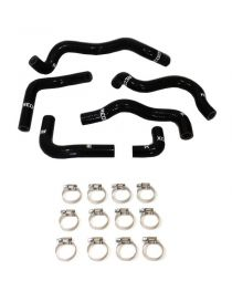 Lancia Delta II HF HPE 2.0 16V Turbo 95-98 Kit 6 durites huile silicone REDOX avec colliers