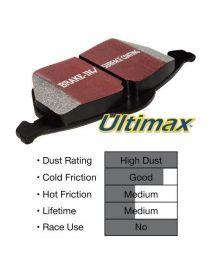 Plaquettes de frein EBC Brakes Ultimax référence DP143 (le jeu)