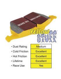 Plaquettes de frein EBC Brakes Jaune / Yellowstuff référence DP4108R (le jeu)