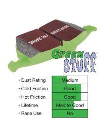 Plaquettes de frein EBC Brakes Vert / Greenstuff référence DP2108 (le jeu)