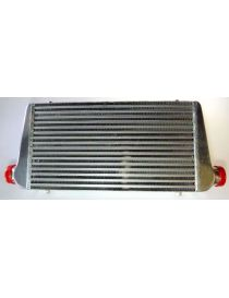 Intercooler aluminium BREEZY 550x300x76mm connexions: 76mm