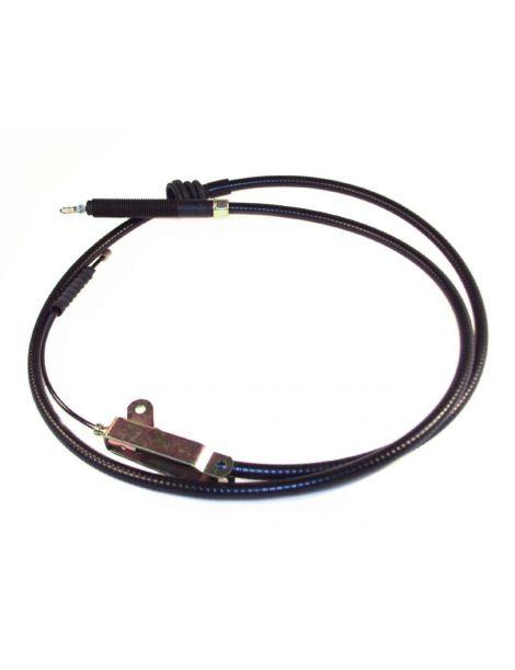 Câble de frein à main HISPEC, longueur: 1.5m avec ressort, chape et axe