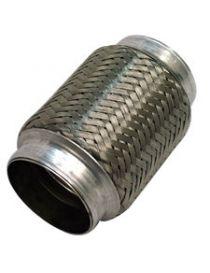 Flexible échappement inox diamètre intérieur 51mm longueur 102mm