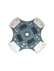Disque embrayage renforce metal fritte amorti 4 patins SAFFA diametre 200mm, reference EMB-5534