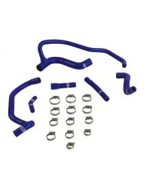 PEUGEOT 405 Mi16 Kit 6 durites silicone huile REDOX avec colliers