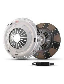Kit embrayage renforcé CLUTCH MASTERS Série FX250 avec disque organique amorti référence 02017-HD0F-D
