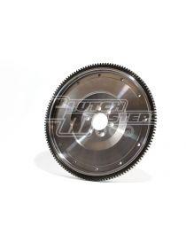 Volant moteur allégé acier CLUTCH MASTERS taillé dans la masse pour embrayage bi-disques 216mm référence FW-017-B-TDS