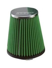 Entrée 75mm Base: 120mm Top: 110mm Hauteur: 150mm Filtre à air simple cône GREEN AIR FILTER