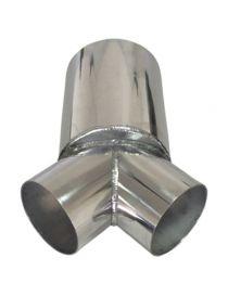 101.6mm / 152.4mm - 2 en 1 (Y) aluminium REDOX