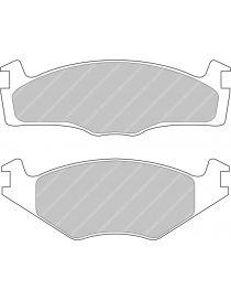 Plaquettes de frein FERODO DS2500 référence FCP392H (le jeu)