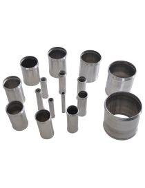 10mm - Manchon aluminium REDOX, longueur 100mm