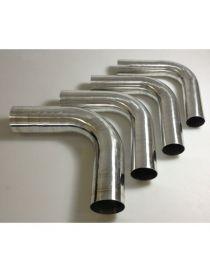 80mm - Coude 90° aluminium REDOX