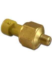 """Sonde / Capteur de pression huile, essence, liquide de frein, N2O AEM 0-10 bars pour manomètre, filetage 1/8"""" NPT"""