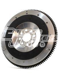 Volant moteur allégé aluminium CLUTCH MASTERS taillé dans la masse pour embrayage bi-disques 184mm référence FW-140-TDA