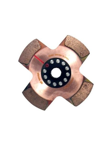 AP RACING - Monodisque diamètre 184mm 4 patins 18 cannelures (arbre diamètre 21.1mm)
