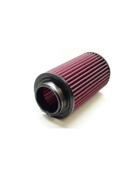 Filtre à air haut débit - connexion femelle 76mm, diamètre de base 152mm, diamètre de tête 127mm, hauteur 220mm