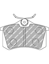 Plaquettes de frein FERODO DS2500 référence FCP1491H (le jeu)