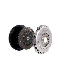 Kit embrayage renforcé SACHS diamètre 240mm, 23 cannelures avec disque organique amorti et volant moteur (530Nm)