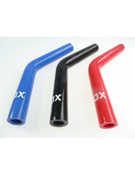 10mm - Coude silicone 45° 3 plis REDOX
