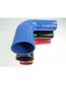 22-25mm - Réducteur silicone 90° 3 plis REDOX