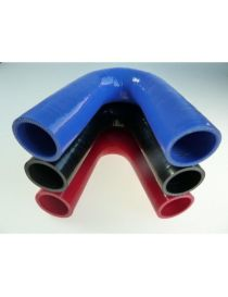 42mm - Coude silicone 135° 3 plis REDOX