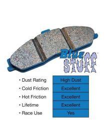 Etriers HISPEC RS152-6 - Plaquettes de frein EBC Brakes Bleue / Bluestuff (le jeu) - Non homologué route