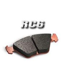 Plaquettes de frein CARBONE LORRAINE RC6 référence 5009W51T18 (le jeu)