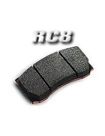 Plaquettes de frein CARBONE LORRAINE RC8 référence 5009W51T18 (le jeu)