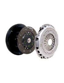 Kit embrayage renforcé SACHS PERFORMANCE diamètre 240mm, 23 cannelures avec disque organique amorti et volant moteur (530Nm)