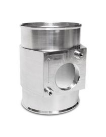 Manchon aluminium 76mm avec support capteur MAF DENSO pour SUBARU MAZDA MPS 6