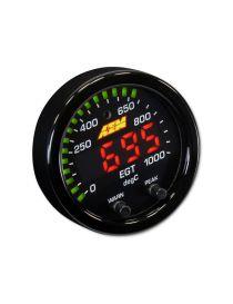Manomètre EGT 0-1000°C X-Series AEM digital fond noir